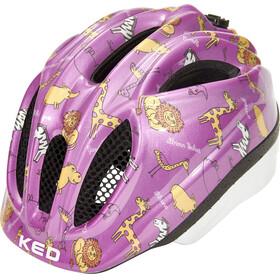 KED Meggy II Trend Lapset Pyöräilykypärä , vaaleanpunainen